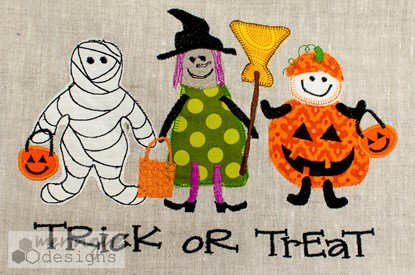Picture of Halloween Trick or Treaters